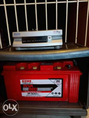 Luminous inverter with Exide battery IR