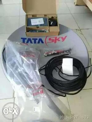 Tata Sky set up box full new kit
