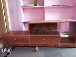Tv stand with good condition.single use with no