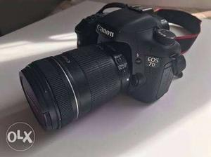 Canon 7d DSLR Camera. With mm lens. With full kit.