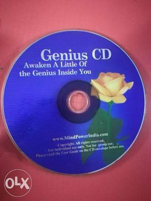 Genius CD to improve Memory