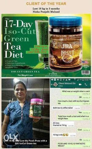 JBA iso cut green tea for weight loss