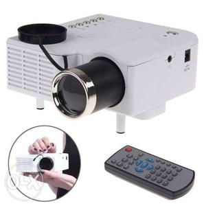 Low Price Best Home Cinema Projector with USB/SD/HDMI/AV/VGA
