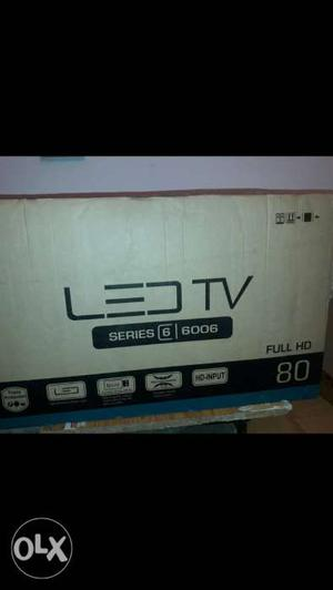 New 32 inch Led TV With 2 Year Warranty And Seal Pack.