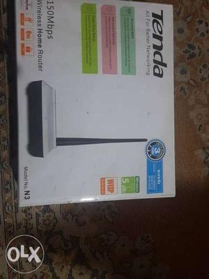 Tenda Wireless Home Router with Box