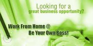 Work from home part time/ full time no experience