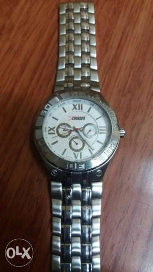 CRUISER wrist watch for men.In mint working