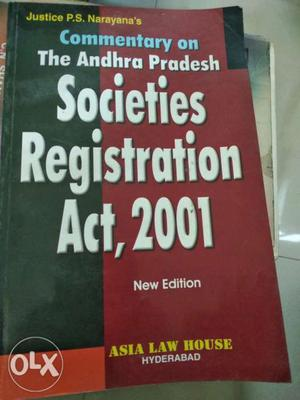 Commentary on the Andhra Pradesh Societies