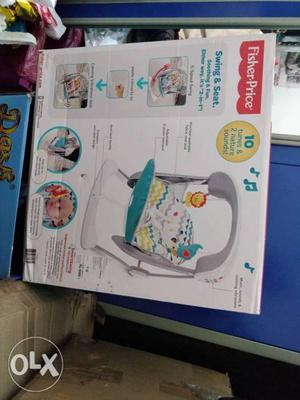 Fischer Price swing and seat for kids or infants almost new