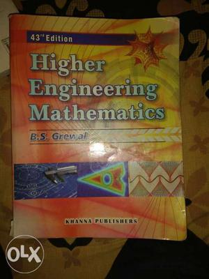 For mechanical engineering Engineering Mathematics Book