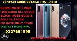 Redmi Note 5 Pro (4GB 64GB) & Redmi Y2 (3GB) Rs