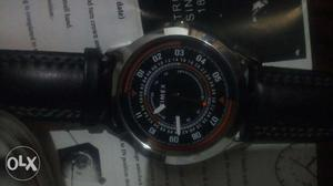 Timex mens watch, new leather strap, price