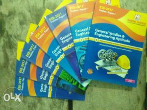 Books for engineering services examination in a