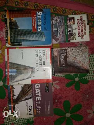 Civil engineering books for BE /B TECH for