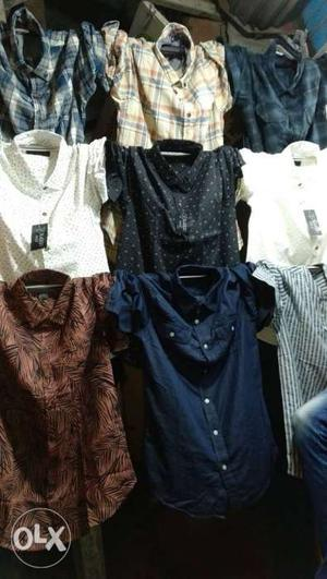 Export surplus men's shirts only for 300 call for