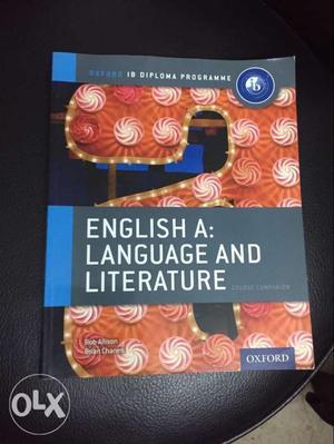 Oxford IB English Language and Literature Course