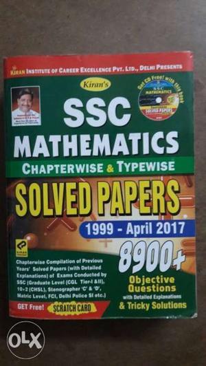 SSC CGL Kiran prakasam Arthematic  series
