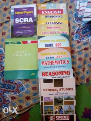Very Important Books for Ssc Bank Railway Defence