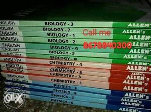 All Physics chemistry Biology book with others