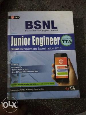 Bsnl je exam book new brand