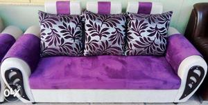 Fancy fabric & best quality 3 seater sofa.