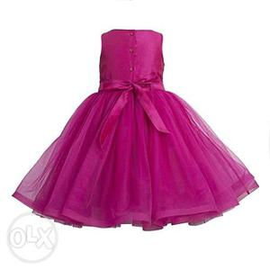Little girls Party wear, princess /fairy gown