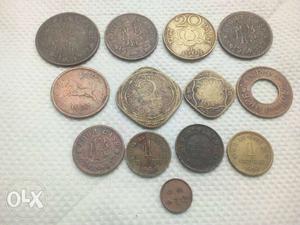 Old travancore coins in trivandrum