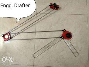 Black And Red Drafting Arm { Engineering Drafter}