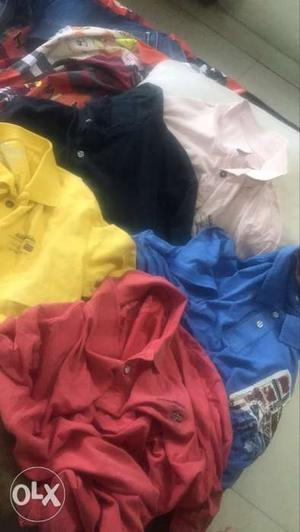 Branded t shirts at local prices. seling due to
