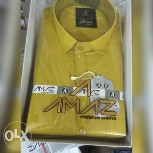 Cotton shirts best price available size - M L