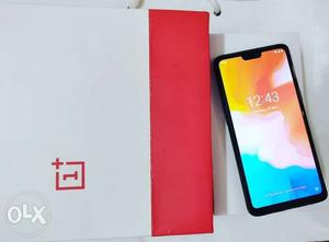 One Plus 6 8 Gb Ram 128 Gb Storage Only One Month