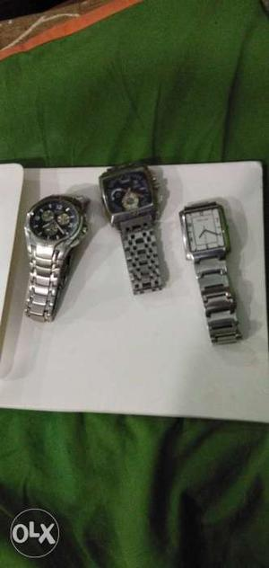 3 watches for sale westar active tag heuer police