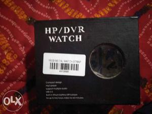 Spy watch with lifetime warranty