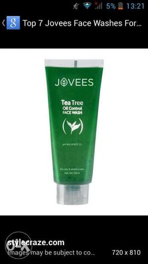 Jovees face pack fruit face wash 100 % demanded