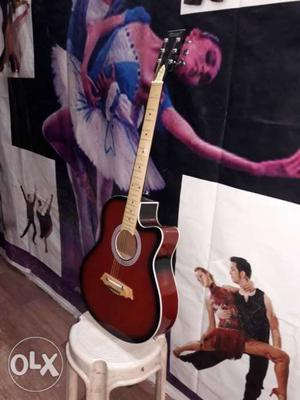 Acoustic guitar for sale in indore with guitar