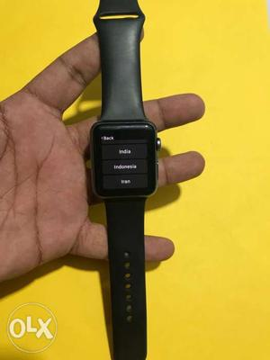 Apple Watch IPhone series 1 42MM Black Good Condition