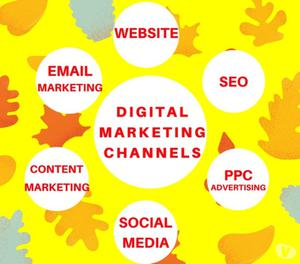 Digital Marketing Services - SEO SMM PPC Content Marketing