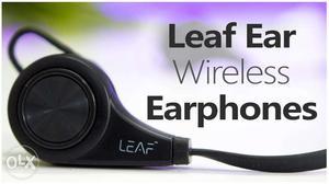 Leaf Ear Wireless Bluetooth Earphones with Mic