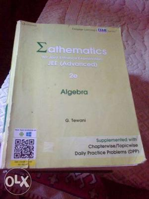 Weak in algebra? Then you should go for cengage