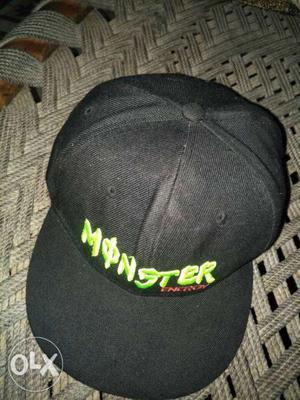 Black Monster Energy Cap