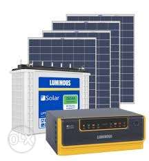 Brand new solar panels, inverter, battery.Contact us...