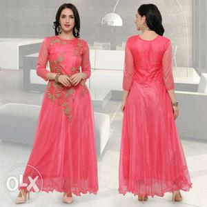Party wear gowns. cash on delivery free shipping
