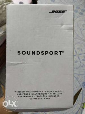Bose wireless soundsport..mint condition..