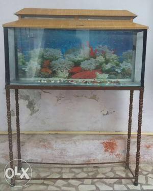Fish aquarium with stand Dimensions L3 feet*W1