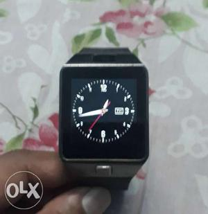 Mobile watch with one sim card and one memory