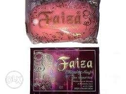 Purple And Pink Faiza Soap And Box