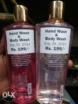 Body wash and hand wash lot  PCs per piese rs 35 only