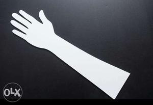 Acrylic Henna Hand for Practising Mehandi Designs