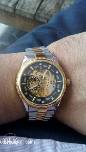 All new Rolex mechanical watch for men(3 months)