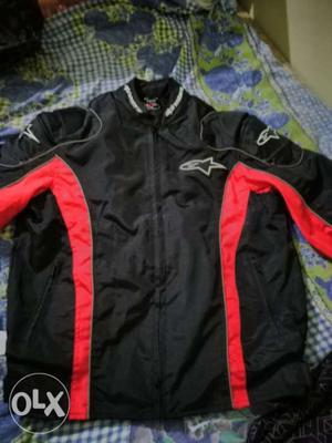 Jacket with ls 2 helmet up for sale.. Jacket is